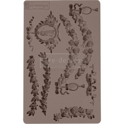 Prima Re-Design Decor Mould -muotti Madame Garland