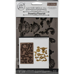 Prima Re-Design Decor Mould -muotti Oceanica Flourish