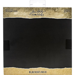 Tim Holtz Idea-Ology paperikko Kraft Blackout