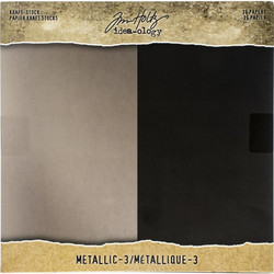 Tim Holtz Idea-Ology paperikko Kraft Metallic 3
