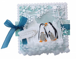 Joy! Crafts stanssi North Pole Signpost