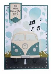 Joy! Crafts stanssisetti Hippy Van