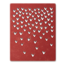 Sizzix Tim Holtz Thinlits stanssisetti Falling Hearts