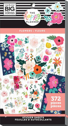 Mambi Happy Planner Value -tarrapakkaus Flowers