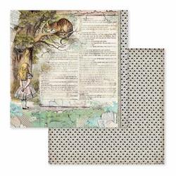 Stamperia paperipakkaus Alice, 12