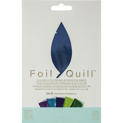 We R Memory Keepers Foil Quill -foliot, Peacock