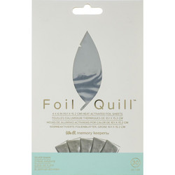 We R Memory Keepers Foil Quill -foliot, Silver Swan
