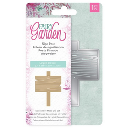 Crafter's Companion Fairy Garden stanssi Sign Post