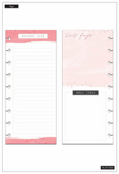 Mambi Happy Planner Classic Half Sheet paperipakkaus, Recipe