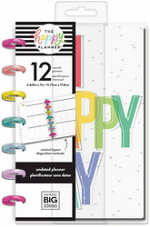 Mambi Happy Planner 12 kk päiväämätön Mini Planner -kalenteri, Oh Happy Everyday
