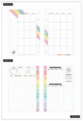 Mambi Happy Planner 12 kk päiväämätön Mini Planner -kalenteri, Budget
