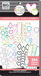 Mambi Happy Planner Value -tarrapakkaus Colorful Shapes