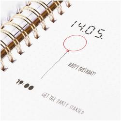 Paper Poetry Bullet Diary sapluuna Basic