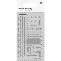 Paper Poetry Bullet Diary sapluuna Arrows
