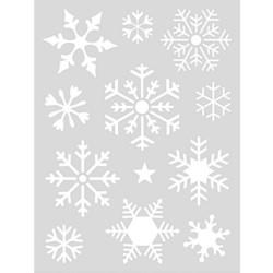 Rico Design sapluuna Snowflakes