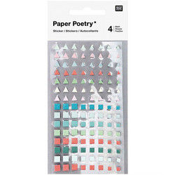 Paper Poetry Bullet Diary tarrat Triangle, Square