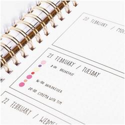 Paper Poetry Bullet Diary tarrat Circles