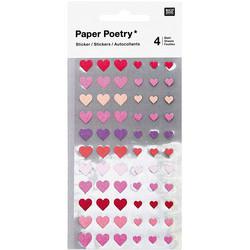 Paper Poetry Bullet Diary tarrat Hearts