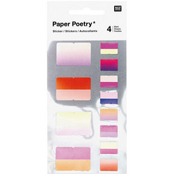 Paper Poetry Bullet Diary tarrat Index, pink