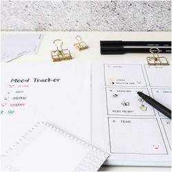 Paper Poetry Bullet Diary Geelikynä, musta, 0.4 mm