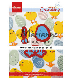 Marianne Design stanssisetti Easter Chick