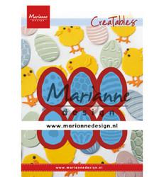 Marianne Design stanssisetti Easter eggs
