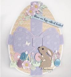 Marianne Design sapluuna Easter Egg