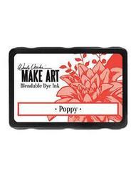 Wendy Vecchi MAKE ART Blendable Dye Ink -mustetyyny, sävy Poppy