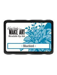 Wendy Vecchi MAKE ART Blendable Dye Ink -mustetyyny, sävy Bluebird