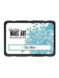 Wendy Vecchi MAKE ART Blendable Dye Ink -mustetyyny, sävy Sky Blue