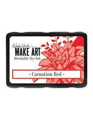 Wendy Vecchi MAKE ART Blendable Dye Ink -mustetyyny, sävy Carnation Red