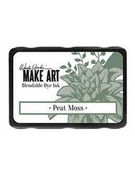 Wendy Vecchi MAKE ART Blendable Dye Ink -mustetyyny, sävy Peat Moss