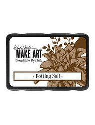 Wendy Vecchi MAKE ART Blendable Dye Ink -mustetyyny, sävy Potting Soil