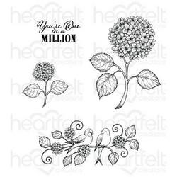 Heartfelt Creations Fresh Cut Hydrangea -leimasinsetti