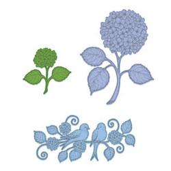 Heartfelt Creations Fresh Cut Hydrangea -stanssisetti