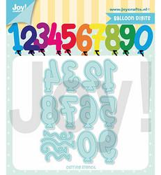 Joy! Crafts stanssisetti Balloon Digits