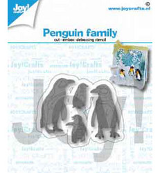 Joy! Crafts stanssisetti Penquin Family