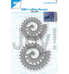 Joy! Crafts stanssisetti Bille's Rolling Flowers