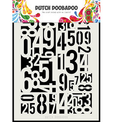 Dutch DooBaDoo Numbers -sapluuna