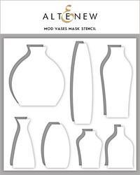 Altenew maski- ja sapluunasetti Mod Vases