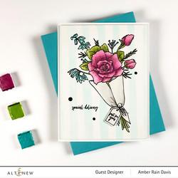 Altenew Breezy Bouquet -leimasinsetti
