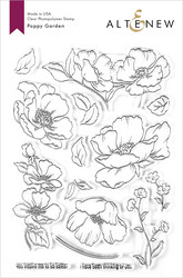 Altenew Poppy Garden -leimasinsetti