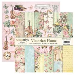 ScrapBoys paperikko Victorian Home,12