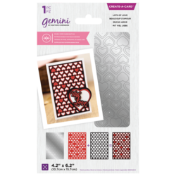 Gemini Double-Sided Create-A-Card stanssi Lots of Love