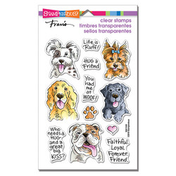 Stampendous leimasinsetti Dog Kisses