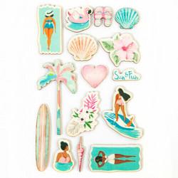 Prima Surfboard Wood -tarrat, puiset