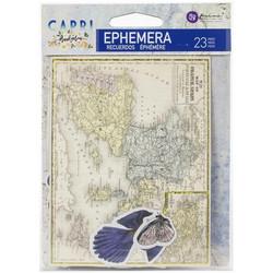 Prima Capri Ephemera die-cuts, leikekuvat