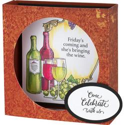 Stampendous leimasinsetti Wine Frame