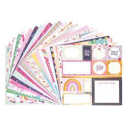 Craft Smart paperipakkaus Shake it Chic, 12