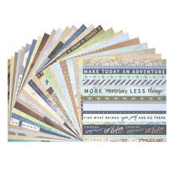 Craft Smart paperipakkaus Travelouge, 12